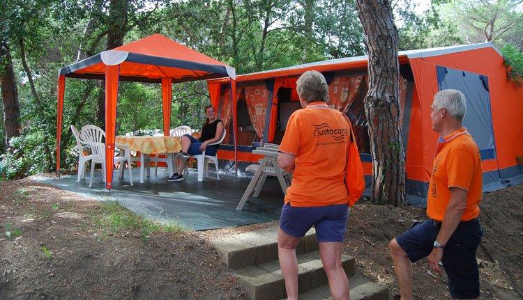 Camping Etruria - Bungalowtent 3