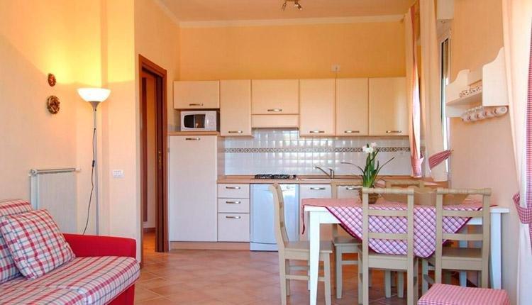 Gabbiano casa bosco deluxe keuken