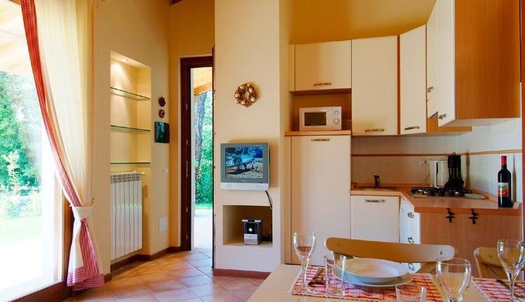 Gabbiano villetta carpino keuken